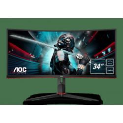 AOC Gaming CU34G2/BK LED...