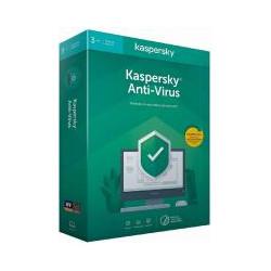 Kaspersky Anti-virus 1an 3 PC