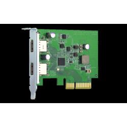 QNAP QXP-10G2U3A carte et...