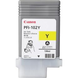 Canon PFI-102Y Original Jaune