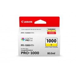 Canon PFI-1000 Y 80ml Jaune...