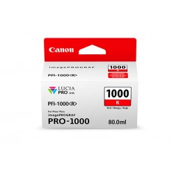 Canon PFI-1000 R 80ml Rouge...