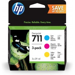 HP 711 Original Cyan,...