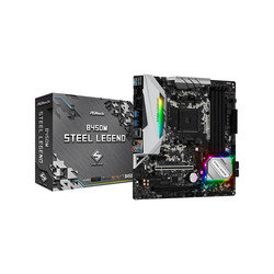 ASROCK B450M STEEL LEGEND -...
