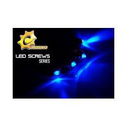FLS-B, Vis Ventilo led bleu x4